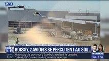 À Roissy, deux avions se sont percutés sur le tarmac sans faire de blessé