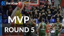 7DAYS EuroCup Regular Season Round 5 MVP: Luke Sikma, ALBA Berlin