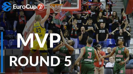 Regular Season Round 5 MVP: Luke Sikma, ALBA Berlin