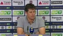 Conférence de presse Fabien Mercadal après Dijon FCO / SMCaen