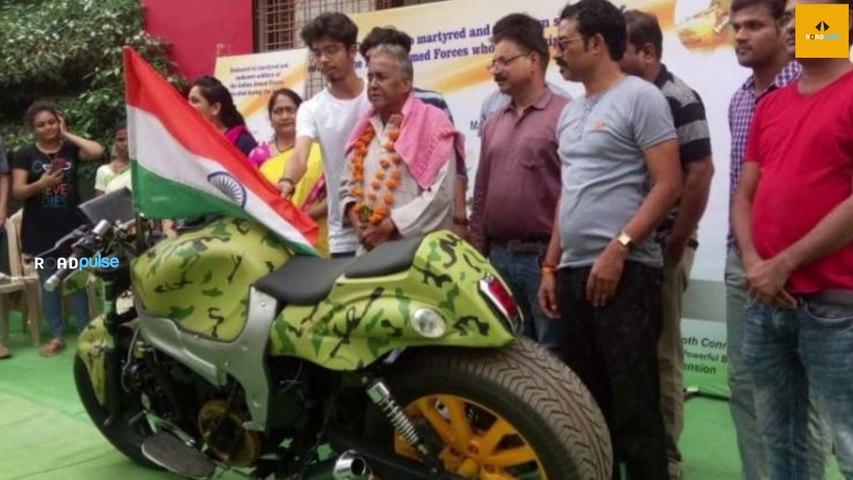 Alto 800 Engine Powered Bike Amar Jawan