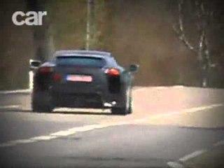Lexus LF-A (2008) spy video