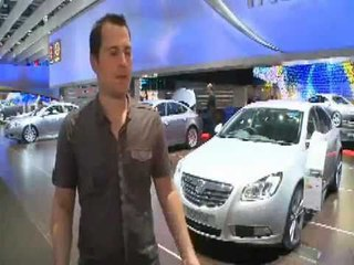 Vauxhall Insignia London Motor Show (2008)