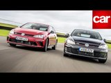 Hot VW Golfs vs Anglesey: six hot Golfs take on the clock - and each other!