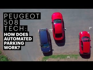 Peugeot 508 - How does automated parking work?