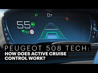 Peugeot 508 Active Cruise Control