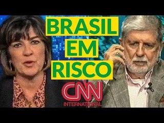 """CELSO AMORIM À CNN: """"TALVEZ ESTEJAMOS DE VOLTA A UM REGIME AUTORITÁRIO""""."""