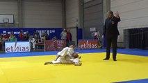 Finale 3e place championnat régional -73kg entre Vincent Dimarca (Mons) et Sylvain Cerny (Mons)