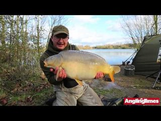 Danny Fairbrass at his new Cawcutts fishery
