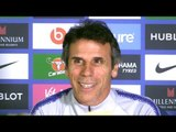 Chelsea 3-2 Derby - Gianfranco Zola Full Post Match Press Conference - Carabao Cup