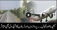 Lock down affects airport, railways schedule