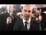 Stanley Tucci Hunger Games Catching Fire Premiere