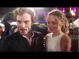 Sam Claflin Hunger Games Catching Fire Premiere