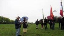 Des Indiens Cherokees dans les Ardennes pour honorer leur ancêtre tombé pendant la Première Guerre mondiale