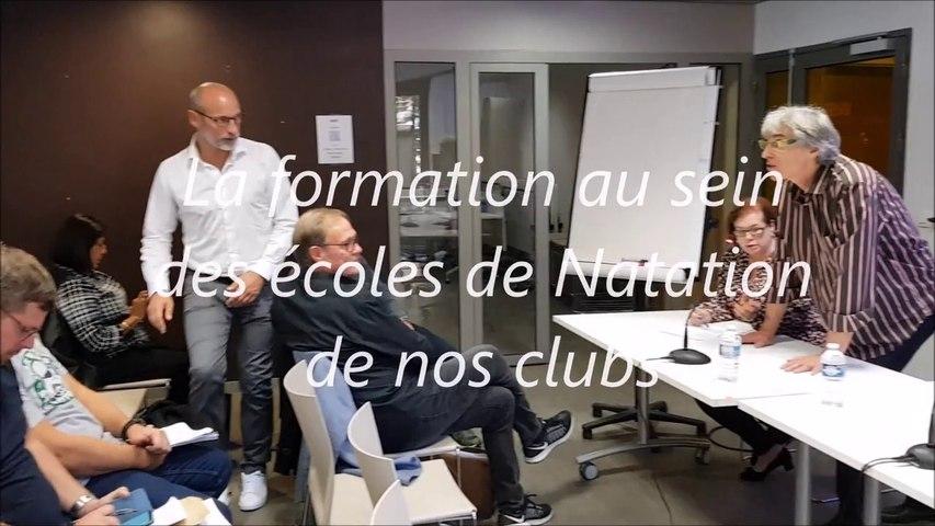 10 - Activités au sein des Écoles de Natation de nos Clubs - Colloque Apprentissage 13 Oct 2018