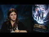 Alexandra Daddario on Percy Jackson and the Lightning Thief | Empire Magazine
