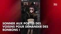 PHOTOS. Sylvie Tellier sort le grand jeu pour célébrer Halloween avec ses enfants
