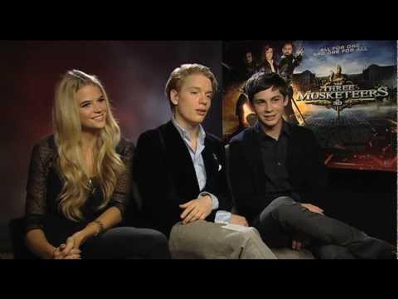 Freddie Fox and Logan Lerman Interview ...