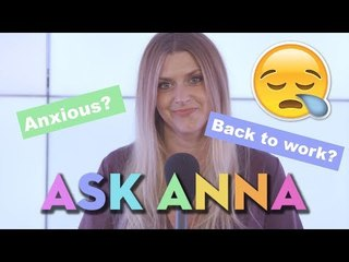 Anxious About Returning To Work After Maternity Leave? Ask Anna Williamson! Mother & Baby