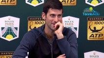 """Rolex Paris Masters 2018 - Novak Djokovic : """"C'est un très beau voyage.... !"""""""