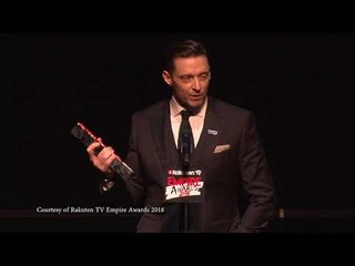 Best Actor - Hugh Jackman, 2018 Rakuten TV Empire Awards