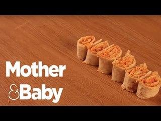 Fun lunchbox ideas - Sandwich sushi