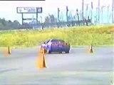 Regis en voiture - Accident de Corvette