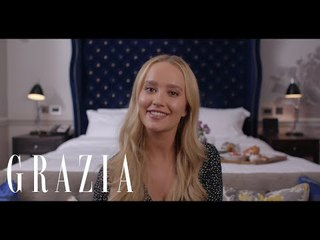 Joely Walker tries TRESemmé Heat Defense Spray | Grazia UK