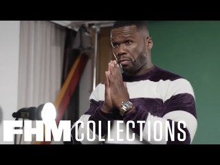 FHM Collections cover star 50 Cent has plenty to smile about