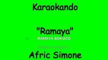 Karaoke Internazionale - Ramaya - Afric Simone ( Lyrics )