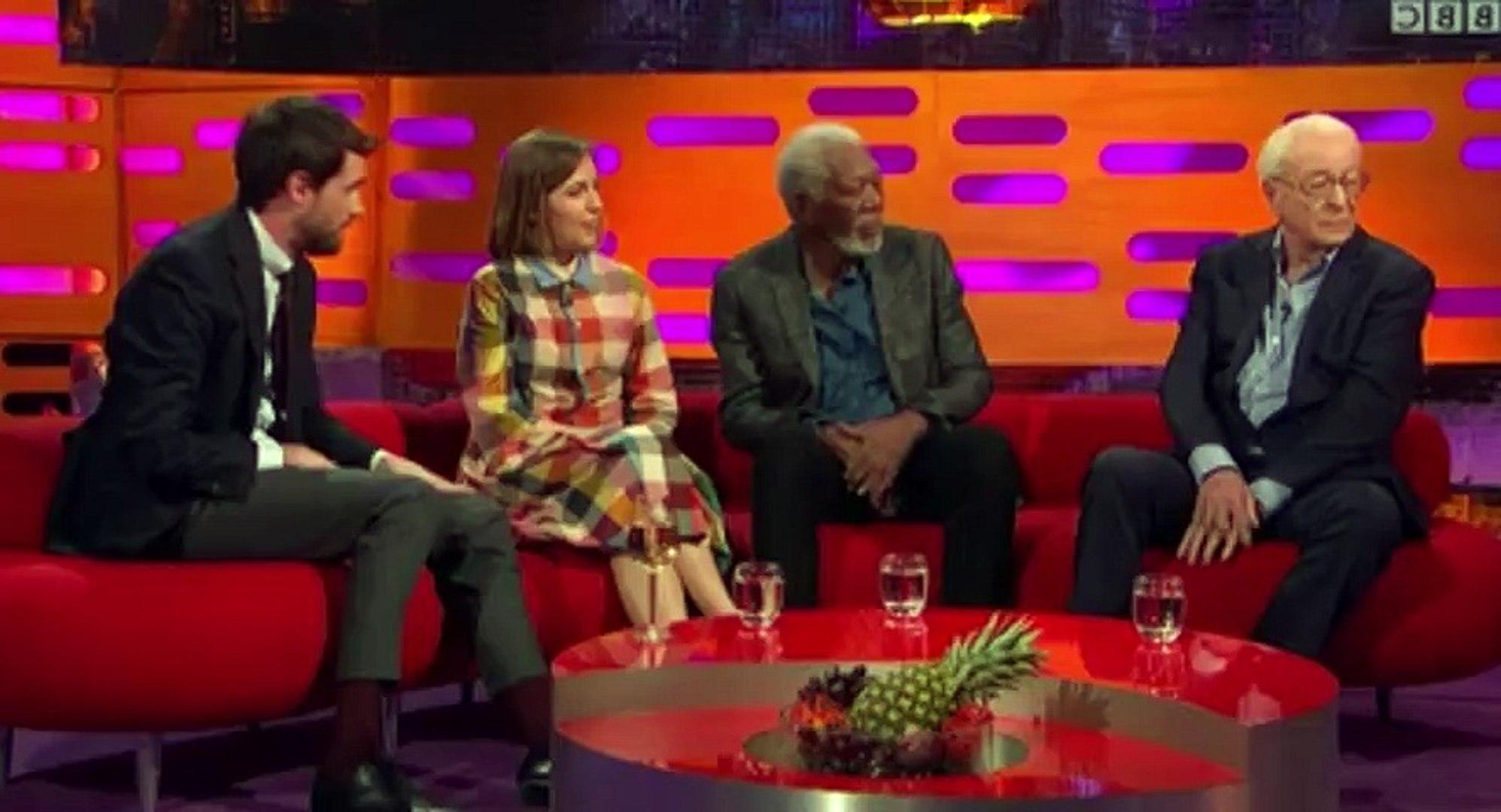 The Graham Norton Show S21 - Ep01 Michael Caine, Morgan Freeman, Jack... HD Watch