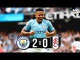 Manchester City 2 x 0 Fulham - Melhores Momentos (HD 60fps) Copa da Liga Inglesa 01/11/2018