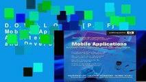 D.O.W.N.L.O.A.D [P.D.F] Mobile Applications: Architecture, Design, and Development: Architecture,