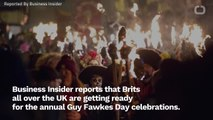 UK Gets Ready To Burn Bonfires For Guy Fawkes Day