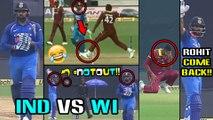 India Vs West Indies 2018, 5th ODI : Virat Kohli And Rohit Sharma Funny Moment | Oneindia Telugu
