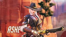 [NEW HERO] Introducing Ashe | Overwatch