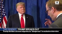Trump Says He 'Tells The Truth When He Can'