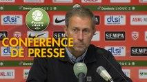 Conférence de presse AS Nancy Lorraine - Clermont Foot (0-1) : Alain PERRIN (ASNL) - Pascal GASTIEN (CF63) - 2018/2019