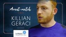Killian Geraci : « On va essayer de rivaliser »