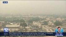En Inde, New Delhi étouffe dans un épais brouillard de pollution