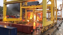 Une catastrophe évitée de justesse dans le port de Barcelone