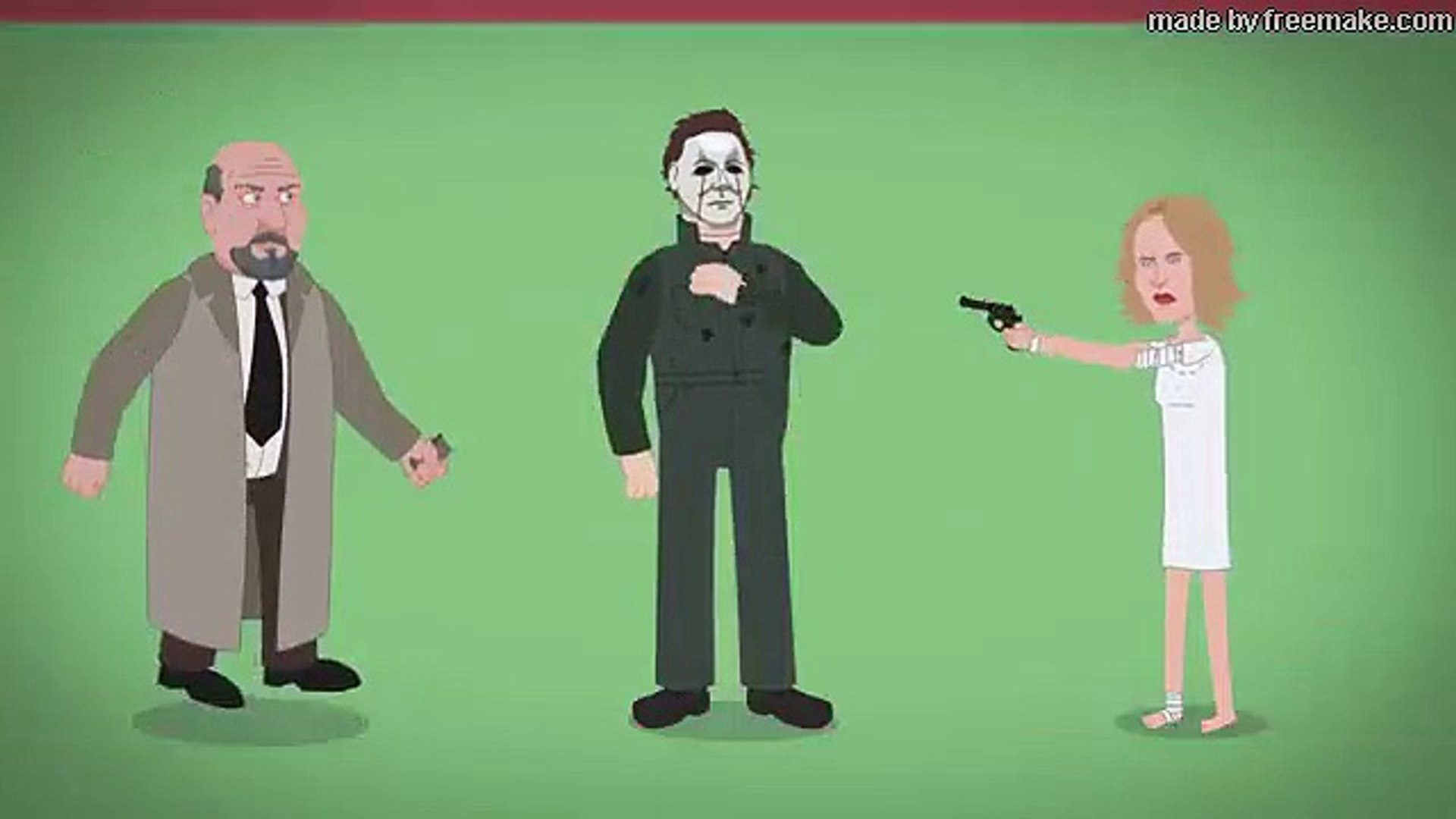 Evolution Of Michael Myers 1978 2018 Animated Video Dailymotion