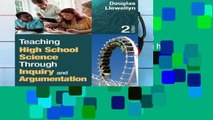 [P.D.F] Teaching High School Science Through Inquiry and Argumentation [P.D.F]