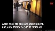 Agressée par un homme dans le métro, elle décide de le filmer