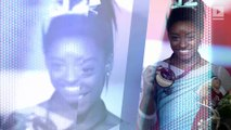 Simone Biles Becomes First Woman to Win Four All-Around World Titles