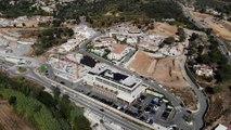 Vue aérienne du gigantesque chantier du Moulin à Sainte-Maxime