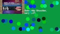 [P.D.F] MRI of Upper Extremity: Shoulder, Elbow, Wrist, And Hand [P.D.F]