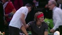 Ambient: Khachanov stuns Zverev to reach Paris Masters semis