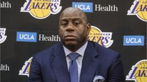 Magic Johnson Reportedly 'Admonished' Lakers Coach Luke Walton For The Lakers' Slow Start