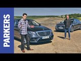 Audi A8 vs Mercedes-Benz S-Class review | Which is the ultimate executive limo? FEAT. DRAG RACE
